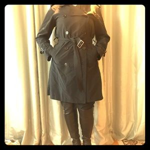 Burberry London Navy trench coat